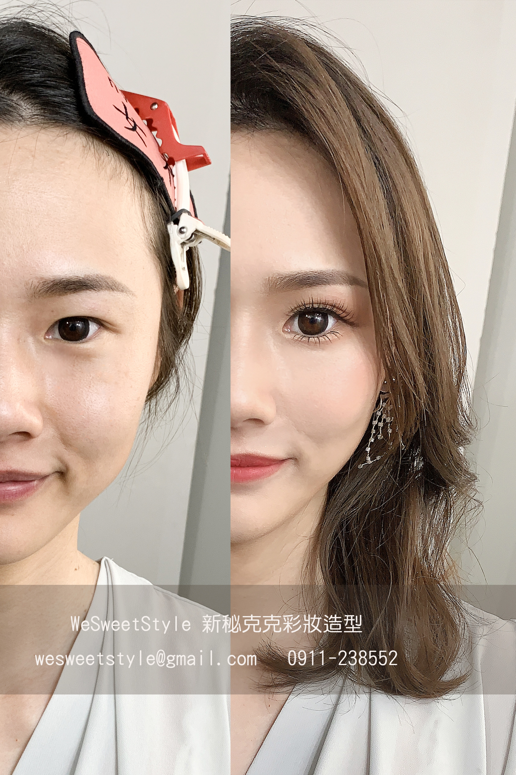 WeSweetStyle新秘克克 彩妝造型20200703-5