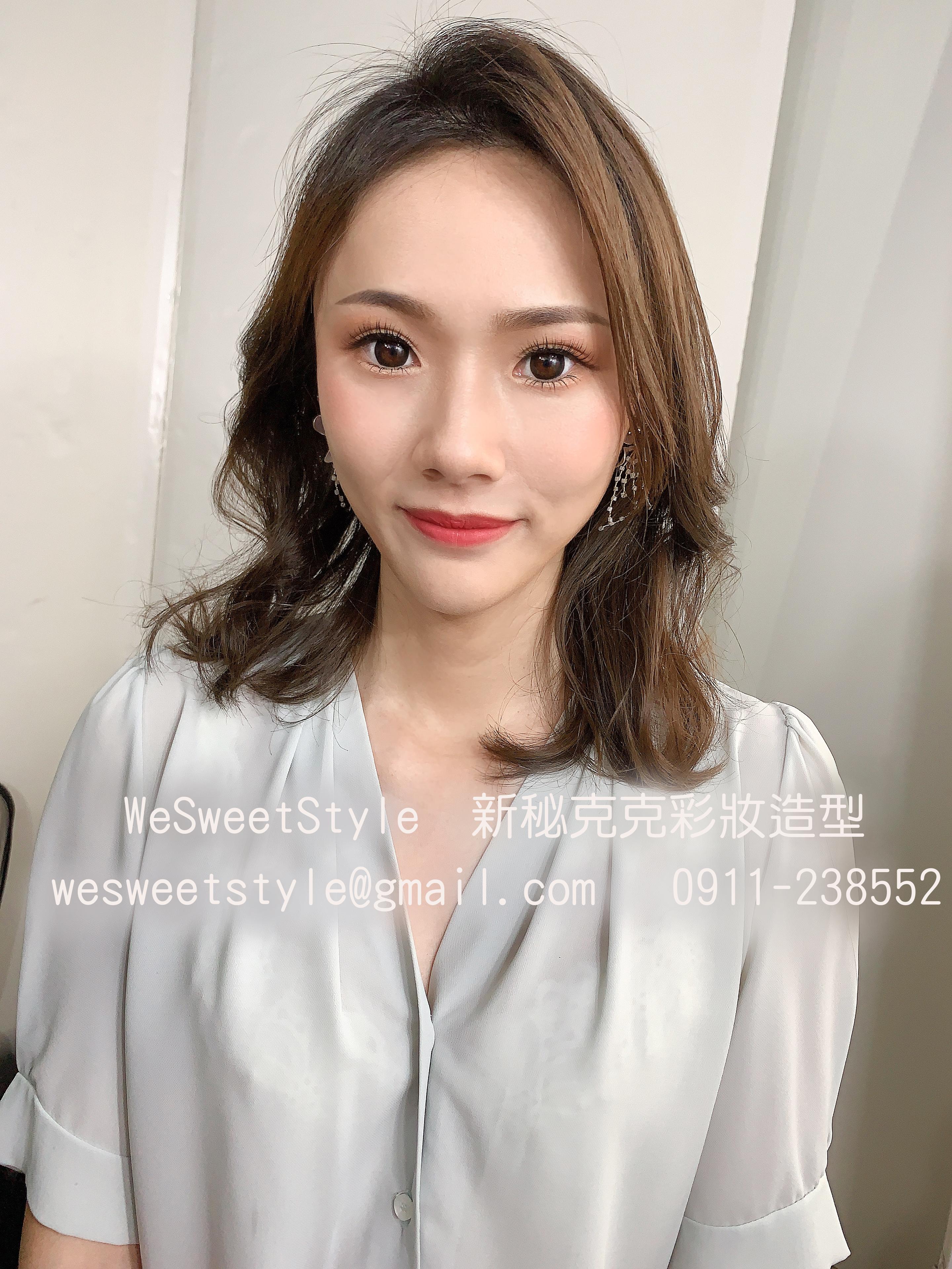 WeSweetStyle新秘克克 彩妝造型20200703-3